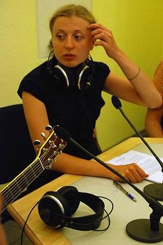 Катерина Луцька. Прямий ефір з групою