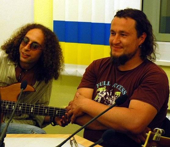 Дмитро Бакрив і Сергій Спатарь. Прямий ефір з групою