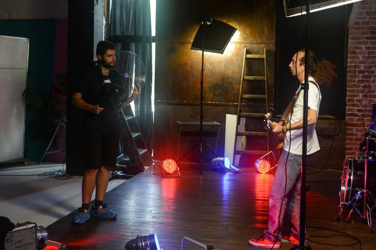 Зйомки кліпу