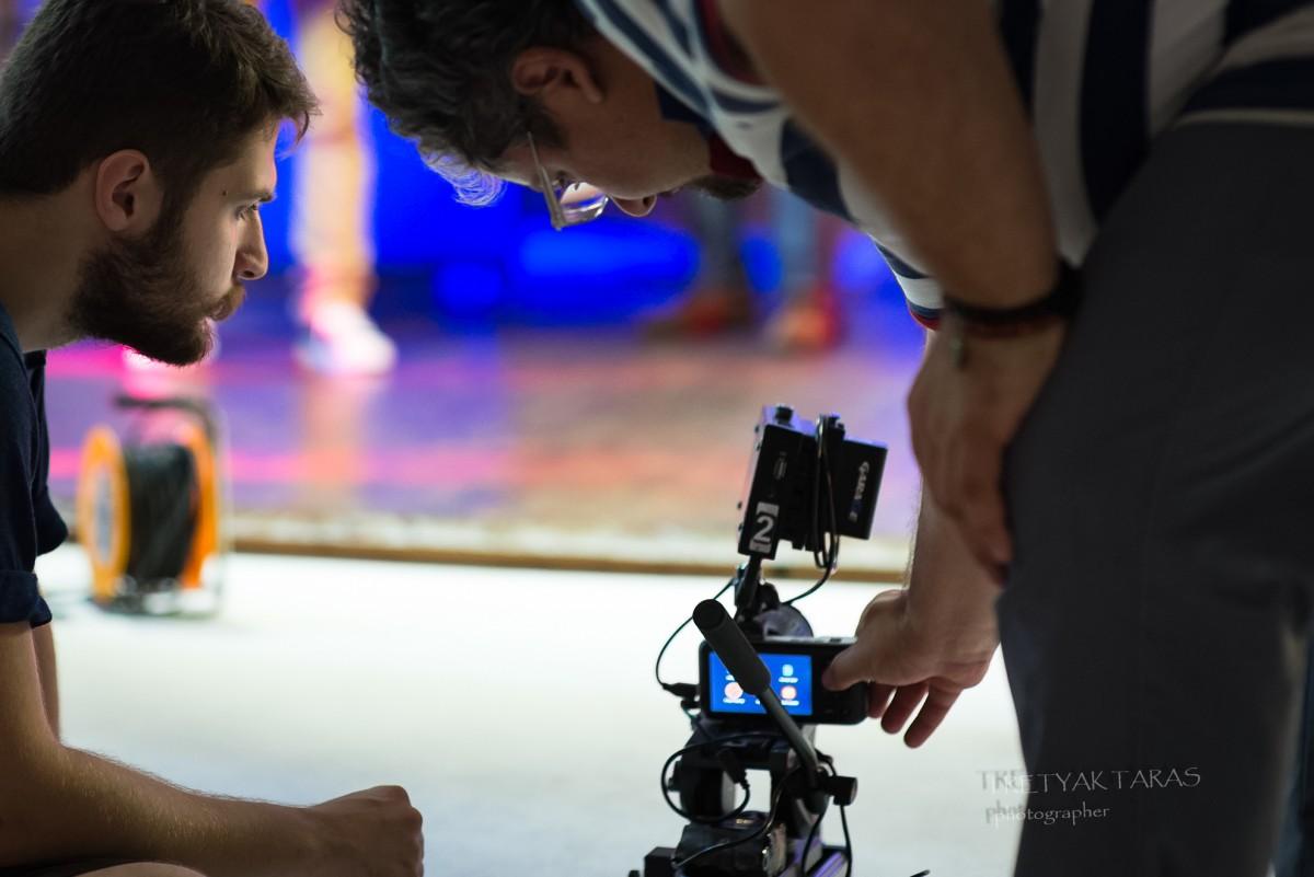 Зйомка кліпу