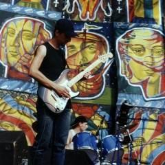 """В.Чернецький, І.Козаченко. Байк-рок-фестиваль """"ROCK VizOK"""". Виступає """"Кам`яний Гість"""" (24.05.2003, м.Черкаси)"""