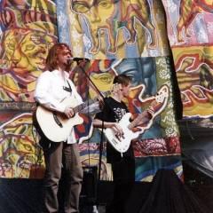 """Ю.Верес, А.Тараненко. Байк-рок-фестиваль """"ROCK VizOK"""". Виступає """"Кам`яний Гість"""" (24.05.2003, м.Черкаси)"""