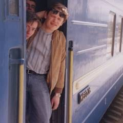 А.Тараненко, І.Козаченко, Є.Прядко. Поїзд Москва-Київ, 02.06.2004