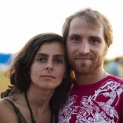 Олена Дімітрова і Сергій Робулець.