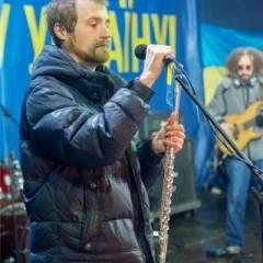 """Концерт гурту """"Кам'яний гість"""" на Євромайдані (29.12.2013). Фото - Марія Ніколаєва"""