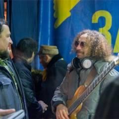 """""""Кам'яний гість"""" на Майдані (29.12.2013). Фото - Марія Ніколаєва"""