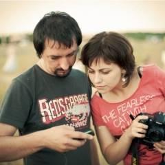 Віктор Чернецький і Марія Ніколаєва.