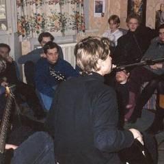 """Квартирник групи """"Кам`яний Гість"""". Фото різних років"""