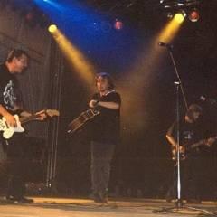"""Група """"Папа Брайтон"""" і Юрій Верес на фестивалі в Миколаєві."""