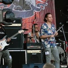 """Група """"Кам`яний Гість"""" на сцені фестивалю """"Цвіт папороті"""", 2010"""