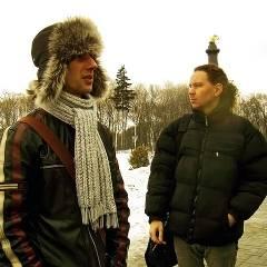 """Тарас Болгак, Антон Сурмін. """"Кам`яний Гість"""" в Полтаві, 06.03.2010"""