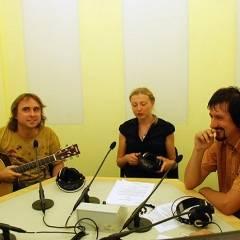 Юрій Верес, Катерина Луцька, Віктор Чернецький. Прямий ефір з групою