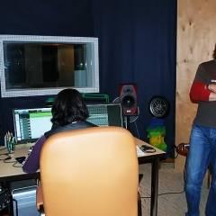 """Запис альбому групи """"Кам`яний Гість"""" в студії """"Kaska Records"""" (м.Київ, 2011)"""