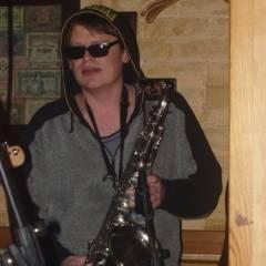 """Євген Прядко. """"Кам`яний Гість"""" на """"Jim Morrison Fest"""" (м.Київ, клуб """"Store 205"""", 12.12.2004). Фото Марії Ніколаєвої"""