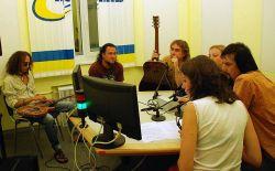 Кам'яний гість на радіо Промінь, фото, аудіо