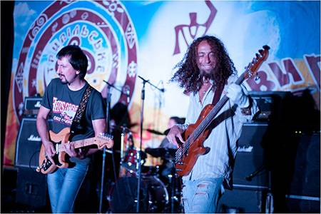 Гурт Кам'яний гість на фестивалі Трипільське коло